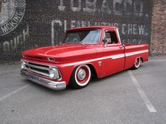 1964 Red C-10, lowered.