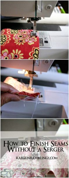 Best DIY Projects: How to sew seams on sheer fabric- Rae Gun Ramblings