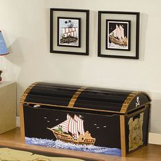 Treasure Chest for a Toy Box