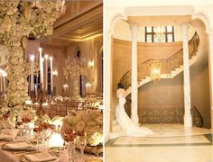 Wedding colours gold and white capture the hearts and minds of sophisticated couples getting married in Italy. Getting Married In Italy, Gold Wedding Colors, Lake Como Wedding, Tuscany, Elegant Wedding, Wedding Planner, Lights, Santa Barbara, Chandeliers