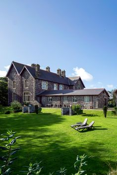 Penrhiw Priory, a 5 star hotel in St Davids, Haverfordwest, Wales Top Hotels, 5 Star Hotels, Countryside Hotel, Country Retreats, Wales, Mansions, Chic, House Styles, Shabby Chic