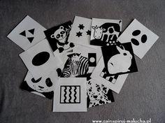 Karty oraz zabawki kontrastowe dla niemowląt | Zainspiruj malucha