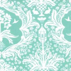 Flora Garden Damask Fabric by Lauren & Jessi by FeatheredNest97030, $4.25