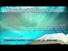 32) NUEVO TESTAMENTO -  MATEO28:1-20 - LA BIBLIA HABLADA  - ESTUDIOS BIB...
