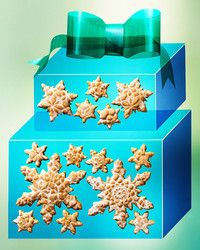 'Tis the season to bake cookies! Use our delicious recipes for biscotti, gingerbread, shortbread, spritz, and more to make the best edible gifts for family and friends. Snowflake Cookies, Holiday Cookies, Shortbread, Best Edibles, Noel Christmas, Christmas Ideas, Christmas Sweets, Christmas Inspiration, Biscotti Recipe