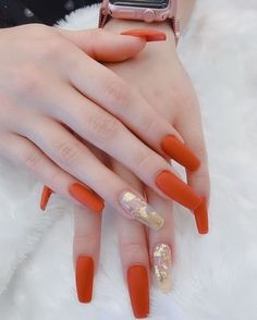 39 Trendy Fall Nails Art Designs Ideas To Look Autumnal and Charming - autumn nail art ideas , fall nail art, fall art designs, autumn nail colors, da. Aycrlic Nails, Dope Nails, Pink Nails, Coffin Nails, Perfect Nails, Gorgeous Nails, Pretty Nails, Dark Nail Designs, Fall Nail Art Designs