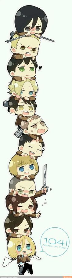 There so cute in chibi form!!