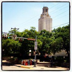 Austin. UT Tower.