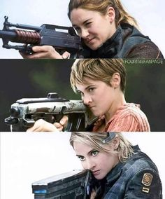 Divergent: omg I can kill with this thing! Insurgent: I can and will kill you. And the last book was ruined by Veronica Roth herself Divergent Hunger Games, Divergent Fandom, Divergent Quotes, Divergent Insurgent Allegiant, Divergent Trilogy, Insurgent Quotes, Tris Und Four, Tris Et Tobias, Allegiant