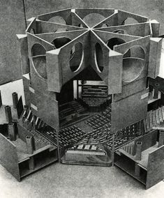 National Assembly Building, Dhaka, Bangladesh (1961-1982) / Louis I. Kahn,