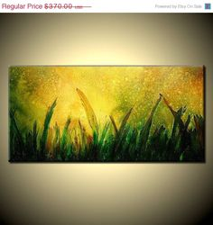 Abstract Painting Modern Original large by newwaveartgallery, $333.00