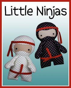 Little Ninjas pattern by Melly & Me. Luke needs one.