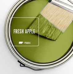 Fresh Apple as Behr's, March, color of the month.