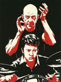 "Great series of illustrations by Chinese artist Cun Shi "".........................................   10. WHIPLASH : Miles Teller and J.K. Simmons clash as teacher and student in a movie about ambition, motivation, limits, and what it takes to be the best. SImmons is insane in this film, one of the best performances of the year, I'm going to say it now, Congrats on your Best Supp. Actor Oscar J.K Simmons !!!"