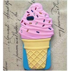 Nueva Carcasa divertida 3D diseño helado para tu móvil iPhone 7