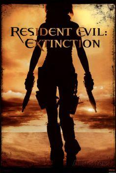 オールポスターズの「Resident Evil- Extinction」写真