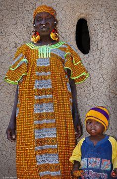 Mother and Child of Senosa, Mali