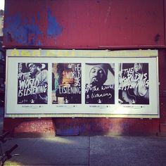 Grammy Campaign #theworldislistening