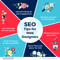 6 helpful tips for web designers that are extremely beneficial for website's SEO  #webdesign #logodesign #SEO #tiptuesday