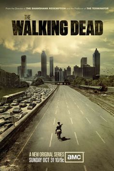 The Walking Dead (Season Sheriff Deputy Rick Grimes journeys through the zombie swarmed city of Atlanta looking for his family. Walking Dead Bd, Walking Dead Season One, The Walking Dead Saison, The Walking Dead Poster, Walking Dead Tv Series, Walking Bad, The Walking Dead Netflix, Rick Grimes, Judith Grimes