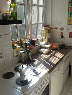 Helle Küche in WG in Hamburg Winterhude