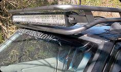 "Cherokee XJ - LED HEAD 40"" L.E.D LIGHT RACK  Light Rack from Detours USA that I plan on getting when they do the half rack setup"