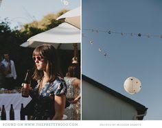 Street festival wedding decor | Photo: Modern Hearts