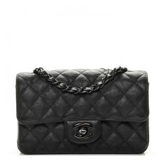 CHANEL Crumpled Calfskin Quilted Mini Rectangular Flap So Black ❤ liked on Polyvore featuring bags, handbags, shoulder bags, cross-body handbag, chanel shoulder bag, mini crossbody, quilted handbags and quilted shoulder bags
