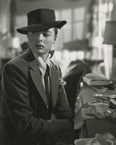 Ingrid Bergman in Alfred Hitchcock's 'Notorious'.