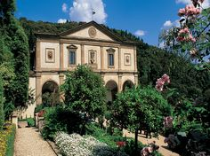 Villa San Michele, now a hotel, - Florence. the Villa's facade is attributed to Top Hotels, Hotels And Resorts, Best Hotels, Amazing Hotels, Beautiful Hotels, Beautiful Places, Villas, Hotels In Florence Italy, Townhouse