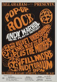 Andy Warhol, Velvet Underground Poster