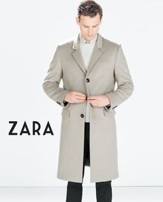 Zara men's pea coat