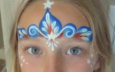 4th of July Face Painting Tutorial