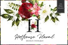 NEW Hothouse Floral Design Kit