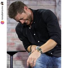 """@jensenackles at #NerdHQ credit @monicadphoto  Jensen Ackles : 'A Study In Laughter' Part 2 - Nerd HQ Supernatural panel, San Diego Comic Con, July 2016. #jensenackles #nerdhq #nerdhq2016 #sdcc2016 #sdcc #Supernatural"""""""
