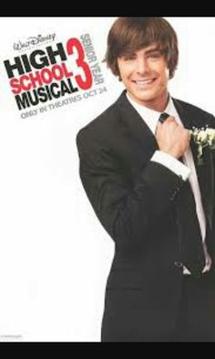 Zac efron in high school musicol 3