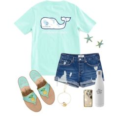 I'm feelin' it by tessabear-prepster on Polyvore featuring polyvore, fashion, style, MANGO, Lilly Pulitzer, Skinnydip, Jack Rogers, Vineyard Vines and clothing