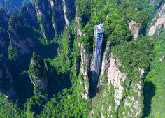 Bailong, China/Лифт Ста Драконов, Китай
