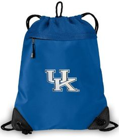 University of Kentucky Drawstring Bag Backpack Blue UK Wildcats Logo  OFFICIAL College Logo MICROFIBER   MESH e1348c5e4abdf