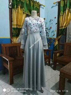 Muslim Fashion, Hijab Fashion, Fashion Dresses, Kebaya Muslim, Muslim Dress, Model Rok, Batik Fashion, Batik Dress, The Dress