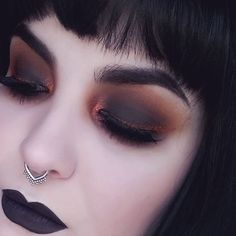 1980s Traditional Goth Makeup Dark Punk love the crazy