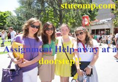 Seek our help for all types of assignment guidance or assistance, our experts are from the recognized universities of USA and they have experience of years. We are more than happy to provide you all sort of homework help.  http://www.stucomp.com/blog/assignment-help-away-at-a-doorstep