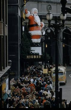 If I could hop in a Delorian and go back to Christmas in Cleveland in the 1950's... I would.