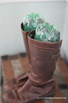 ReMadeSimple: Smart Simple & Green Boot Storage Tips