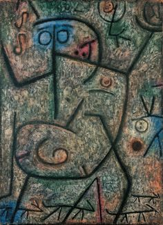 Paul Klee ~ Oh! These Rumors! (1939)