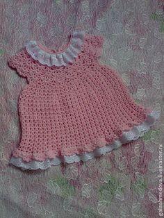 """платье для девочки """"Ксения"""" ручной работы - бледно-розовый,платье для девочки"""