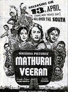 Old picture Tamil movie poster