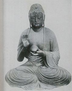 Yakushi Nyorai Shishikutsuji - with the (Cinta) Mani Stone Jewel -  Pedra Filosofal - Graal -