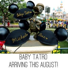Our Disney Pregnancy Announcement #1