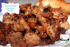 Try our peach glazed pork roast recipe with fresh peaches cooked with cinnamon and sugar. Melt in your mouth taste and a recipe to add to your books. Lovebugs and Postcards Glazed Pork Roast Recipe, Pork Roast Recipes, Slow Cooker Recipes, Crockpot Recipes, Cooking Recipes, Slow Cooking, Summer Roast Recipes, Fall Recipes, Great Recipes